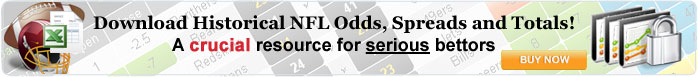 Download Historical NFL Odds, Spreads and Totals!
